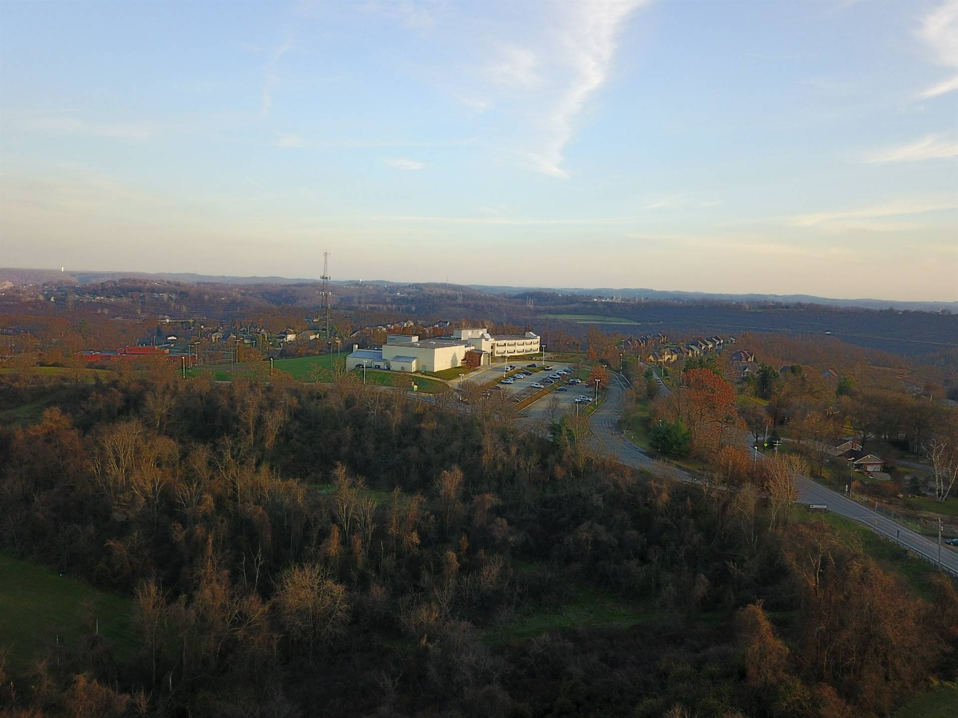 aerial photo of Jefferson Hills Intermediate School