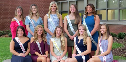 2018 TJ Homecoming Court group photo