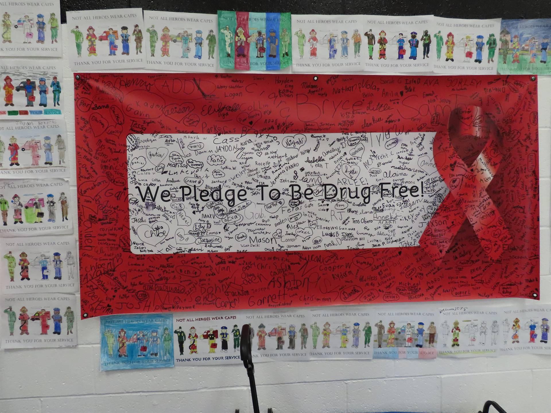 Drug-free poster