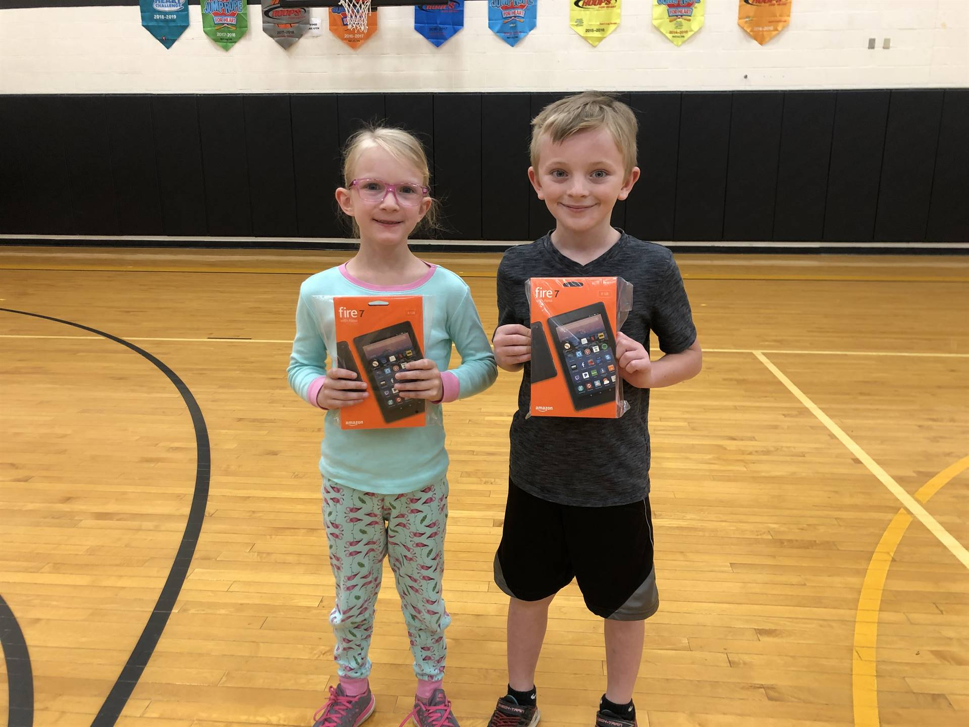 Kindle Fire Winners - Adrienne Holuta & Michael Caldwell