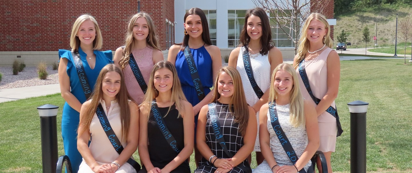 TJHS Homecoming court