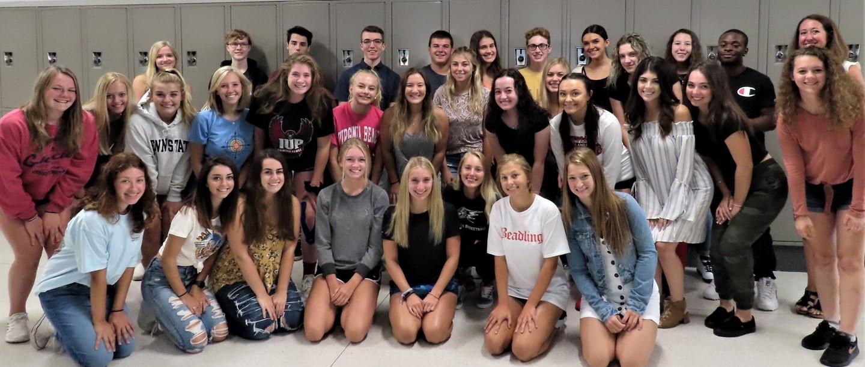 PR Class group photo