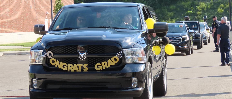 Senior Diploma Distribution Car Event